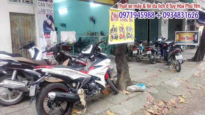 Cho Thuê Xe Máy Ở Tại Tuy Hòa Phú Yên 15