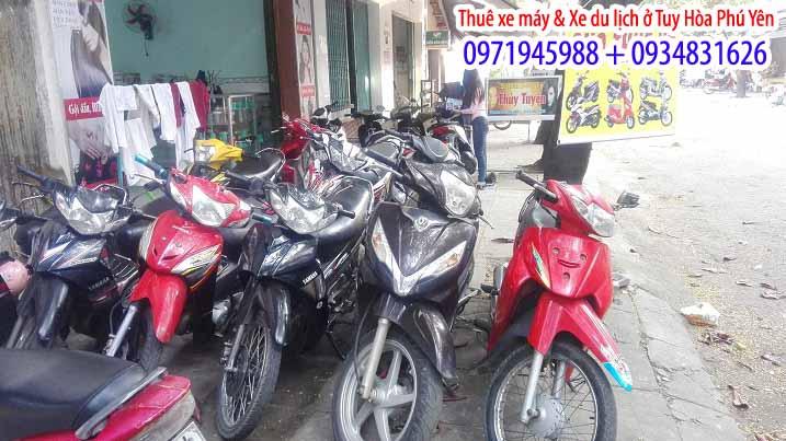 Cho Thuê Xe Máy Ở Tại Tuy Hòa Phú Yên 5