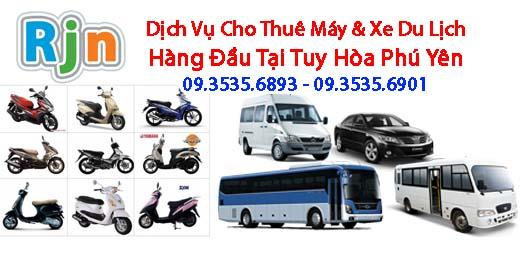 Thuê xe máy xe du lịch ở tại Tuy Hòa Phú Yên