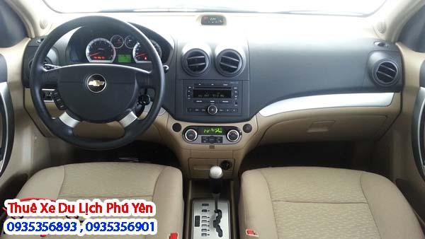 Cho thuê xe 4 chỗ Toyota Vios ở Tuy Hòa,Phú Yên