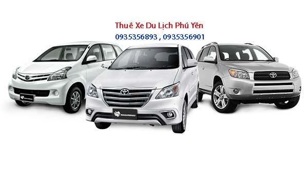 Cho thuê xe du lịch ở Phú Yên các loại xe sang trọng chất lương
