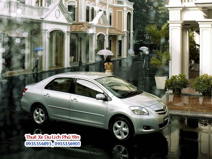 Dịch vụ cho thuê xe 4 chỗ toyota vios ở Phú Yên