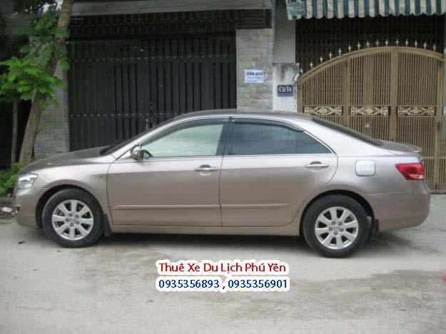 Chi tiết dịch vụ cho thuê xe du lịch 4 chỗ Toyota Camry 2.4 tại Tuy Hòa,Phú Yên