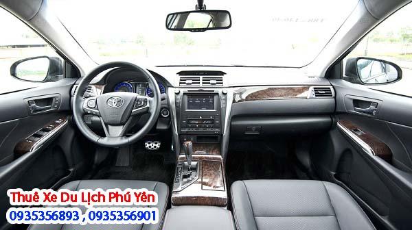 Dịch vụ thuê xe du lịch 4 chỗ Toyota Camry 2.5 Q tại Phú Yên