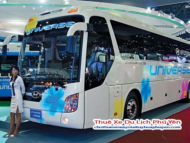 Dịch vụ cho thuê xe du lịch Phú Yên có các loại xe cực kì sang trọng