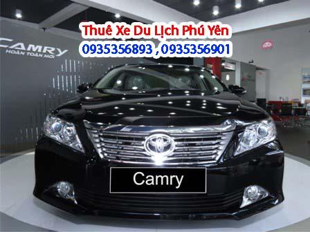 Dịch vụ thuê xe du lịch 4 chỗ Toyota Camry 2.5 Q tại Phú Yên mang đến cho khách hàng mẫu xe mới và đang được ưu chuộng nhất hiện nay
