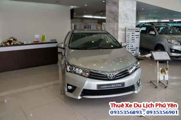 Cho thuê xe 4 chỗ Toyota altis tại Phú Yên cơ hội cho quý khách được trãi nghiệm những mẫu xe thịnh hành nhất