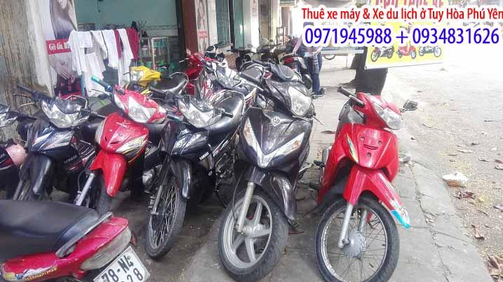 dịch vụ cho thuê xe máy tại Tuy Hòa 6