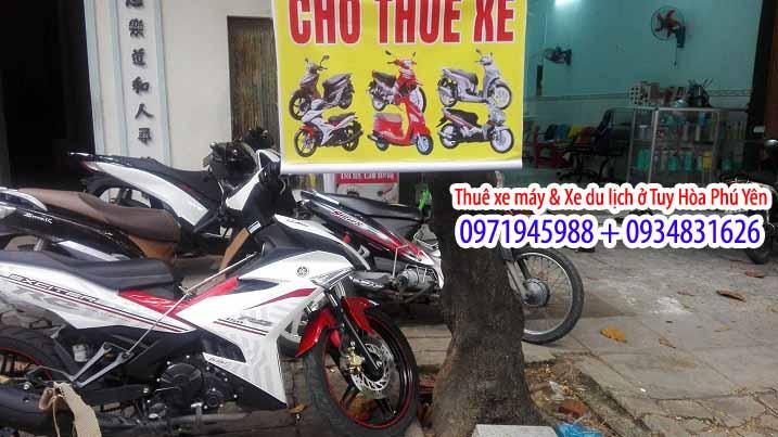 Dịch vụ thuê xe máy ở Phú Yên 1