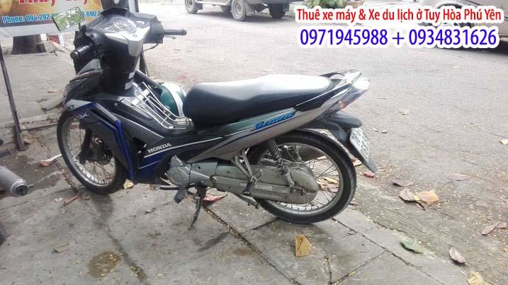 Dịch vụ thuê xe máy ở Phú Yên 2