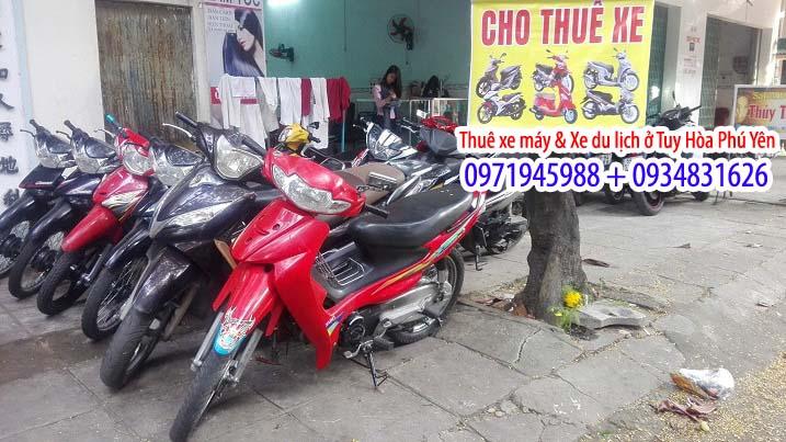 Dịch vụ thuê xe máy ở Phú Yên