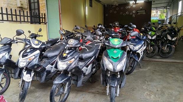 Thuê xe máy giá rẻ Phú Yên